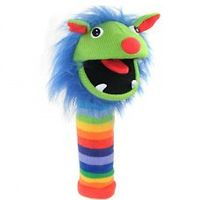 Sock Puppet - Rainbow