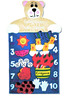 Baby Bear Can Count - Fun Wall Hanging